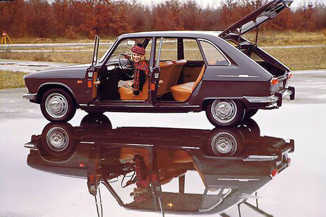 First Production Hatchback 1970 Renault 16 Ts