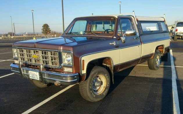BF EXCLUSIVE: 1978 Chevrolet Silverado 4×4