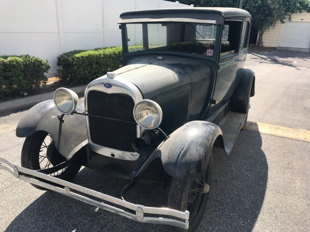 Dusty Diamond Barn Find: 1928 Model A Tudor