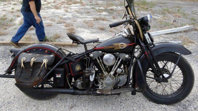 Harley Davidson Project For Sale - Barn Finds