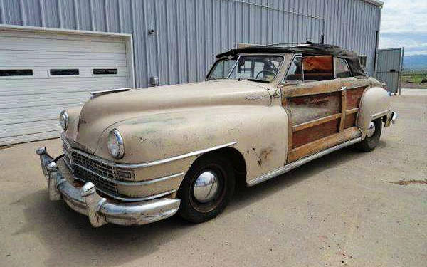 1946 Chrysler Town Country Convertible