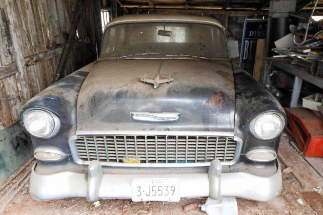 Parked In 1987: 1955 Chevrolet Bel Air