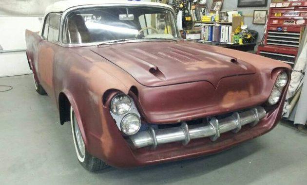 Cool Custom! 1957 Chevrolet Convertible