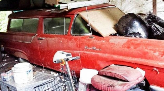 Ford Estate Twofer: 1957 Ranch Wagon Combo