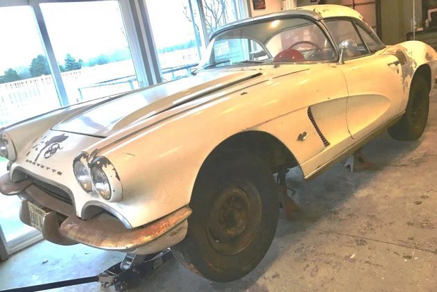 """As Is"" Special! 1962 Corvette Convertible"