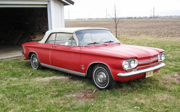 Cheap Car Tires >> Safe At Any Speed: 1963 Chevrolet Corvair Convertible