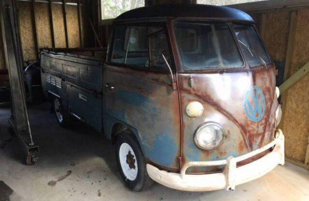 Rusty Redemption: 1966 VW Single Cab Split Window