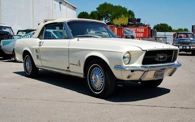 One Of One: 1967 Ford Mustang Convertible
