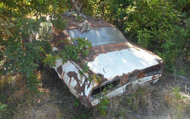 X66 Forest Find! 1969 Camaro SS396 Carcass