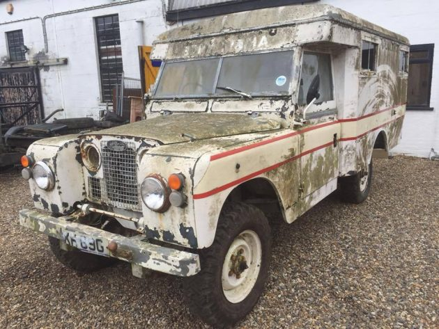 Stored 20 Years 1969 Land Rover Ambulance