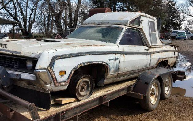 Amazing Custom 1970 Ford Ranchero Squire