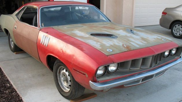 Patchwork Muscle: 1971 Plymouth 'Cuda