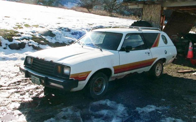 Ford's Psychedelic Wagon: 1979 Pinto Cruiser