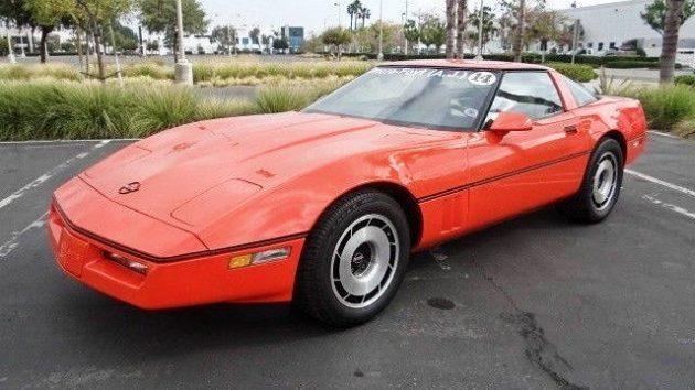 1 Of 2 In Hugger Orange: Jim Gilmore's 1984 Corvette