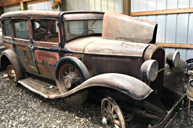 Wooded Sedan: 1931 Plymouth Deluxe Sedan