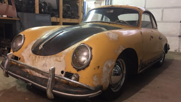 Matching Numbers Coupe: 1958 Porsche 356