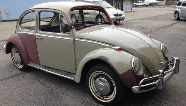 Parked Since 1970: 1966 VW Beetle