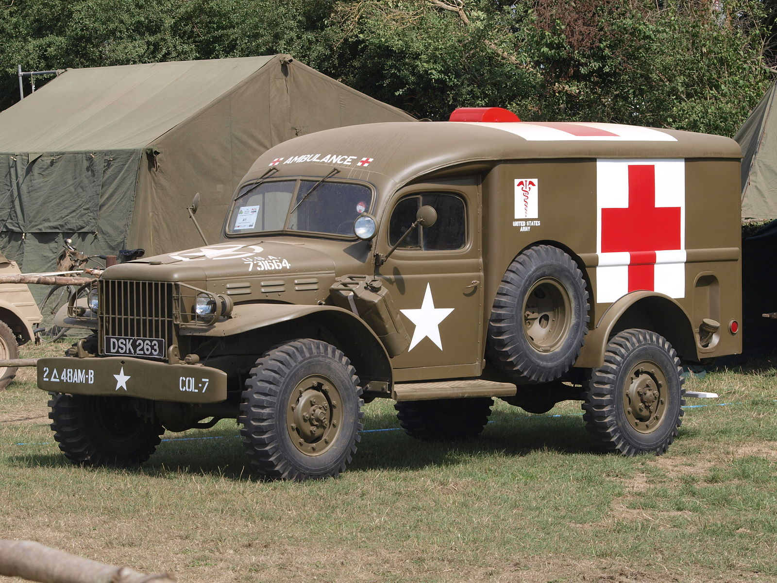 Roadside Assistance 1942 Dodge Power Wagon Tow Truck Too