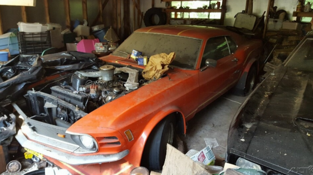 Straight Outta the 80s: 1970 Ford Mustang