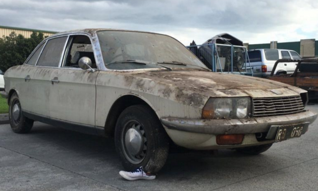Wankel In The Barn: 1975 NSU Ro 80