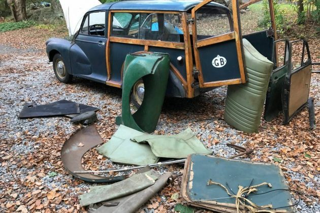 Put the Pieces Together: 1958 Morris Minor Traveller