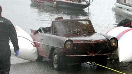 Underwater Since '85: Sunk Amphicar Rescue