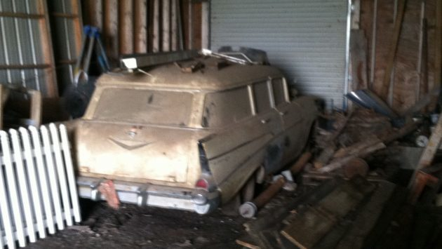 27 Years in a Barn: 1957 Chevy 210 Wagon