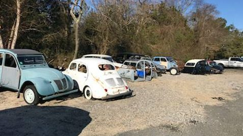 Abandoned French Collection: Unclaimed Citroen Lot