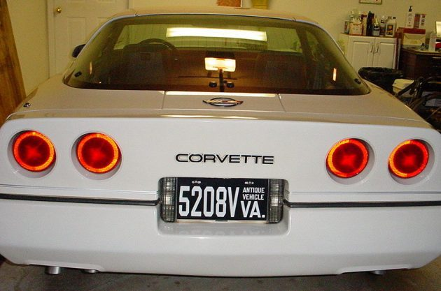 Sibling Inheritance: 1984 Chevy Corvette