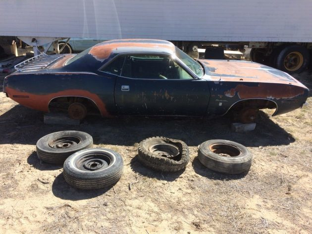 Solid Shell: 1970 Plymouth Barracuda
