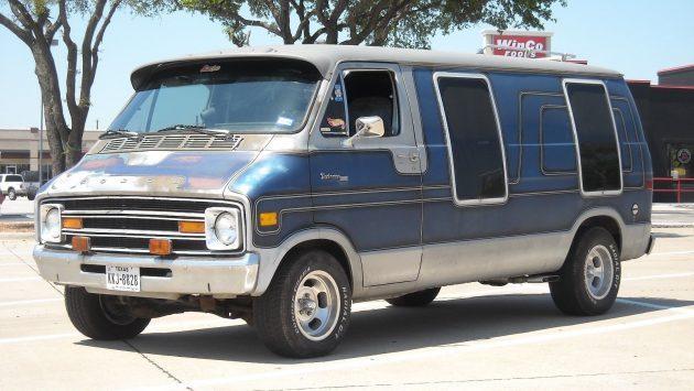 Tradesman Sleeper: 1978 Dodge B200