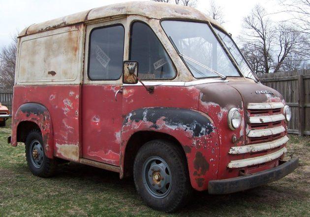 Divco Alternative: 1949 Dodge Route Van