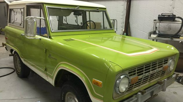 Put The Lime In The SUV! 1975 Ford Bronco