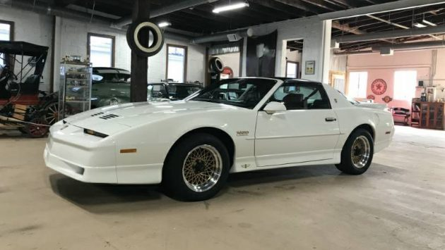 25,000 Mile Pace Car: Pontiac Firebird Trans Am Turbo