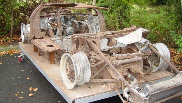 Where Is It Now? Wrecked Ford GT40