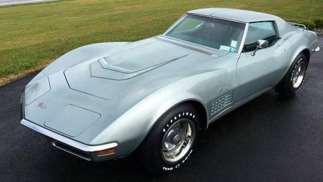 Numbers Matching, Mostly Original: 1971 Corvette LT-1