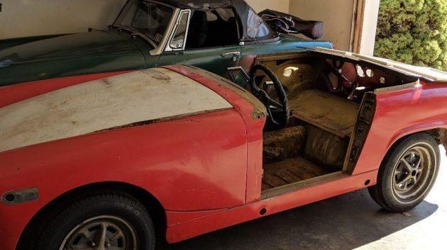 Project Pair: MG Midget + Parts Car