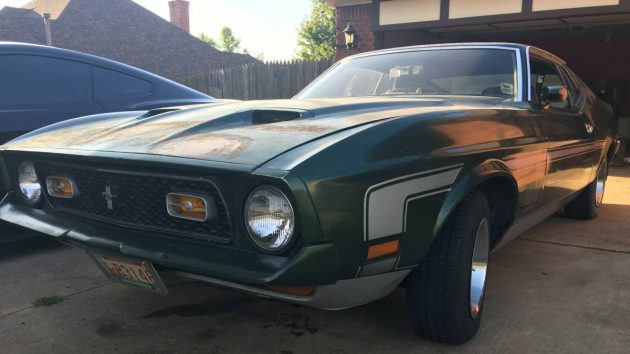 Cross Country Ready: 1971 Ford Mustang Mach 1