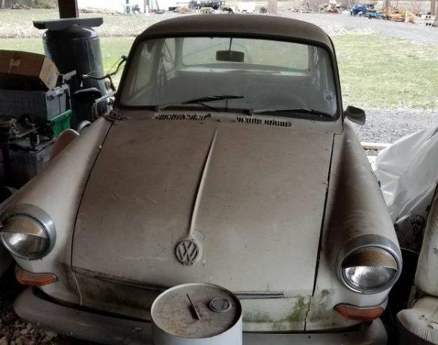 Hidden Notch 1964 Vw Type 3