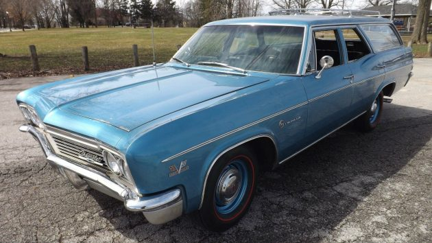 427 & 4-Speed! 1966 Chevrolet Impala Wagon