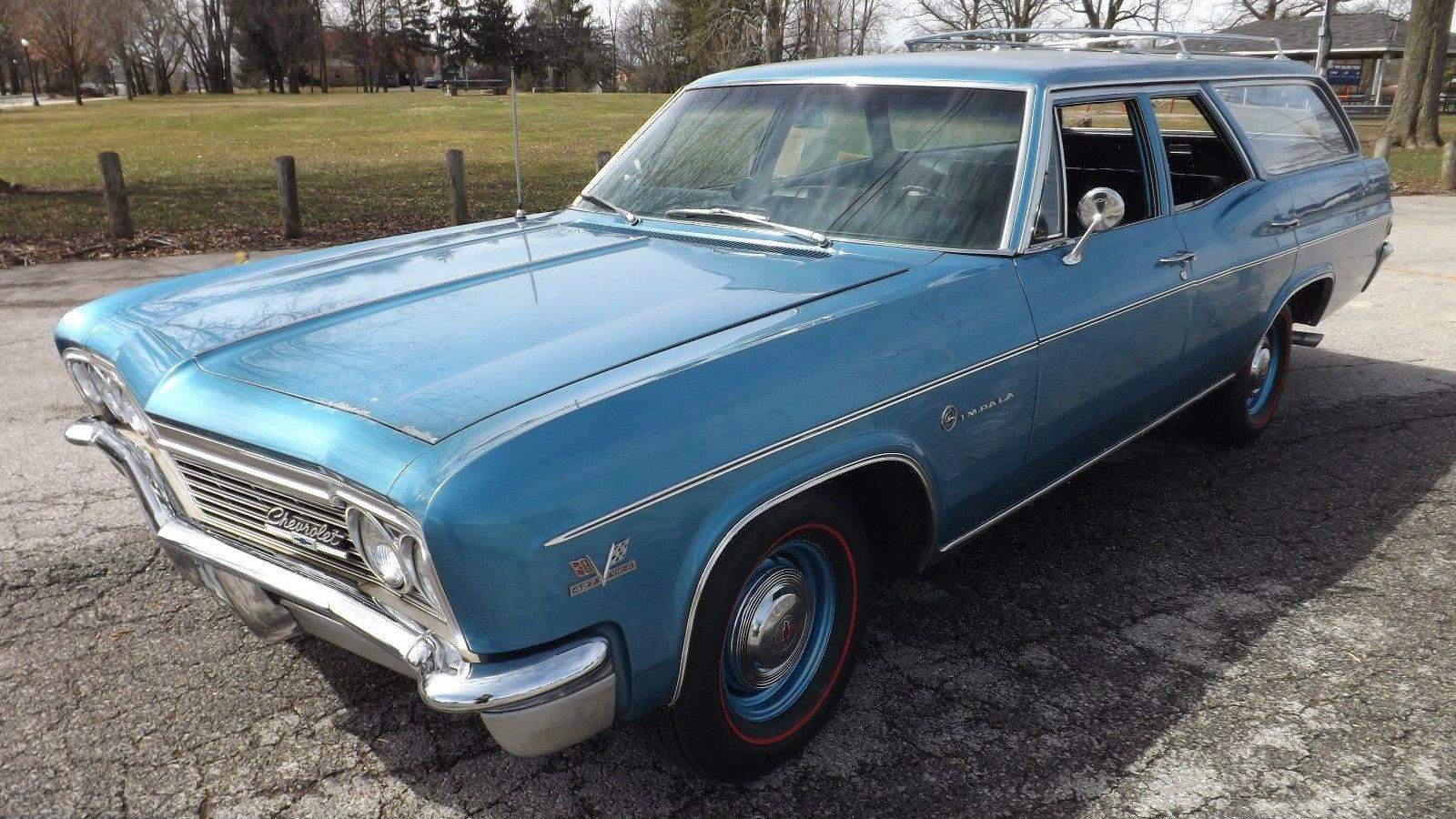 427 4 Speed 1966 Chevrolet Impala Wagon Chevy Caprice