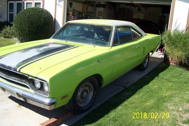 On The Streets Of Bakersfield: 1970 Plymouth Road Runner