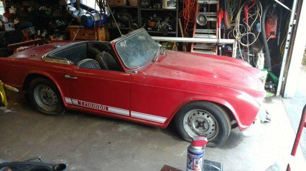Four Decades Parked: 1964 Triumph TR4