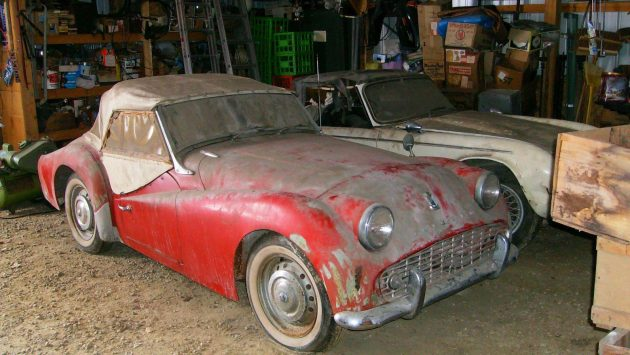 Pickled And Parked 1959 Triumph Tr3