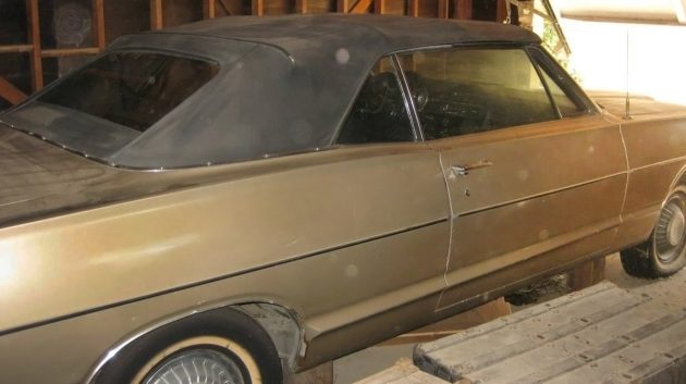 Stored Since 1983: 1968 Mercury Monterey Convertible