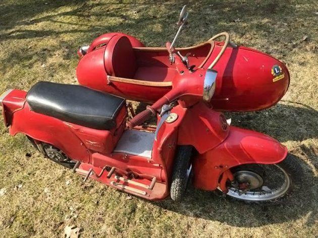 Rare Italian: 1960 Moto Guzzi Galletto