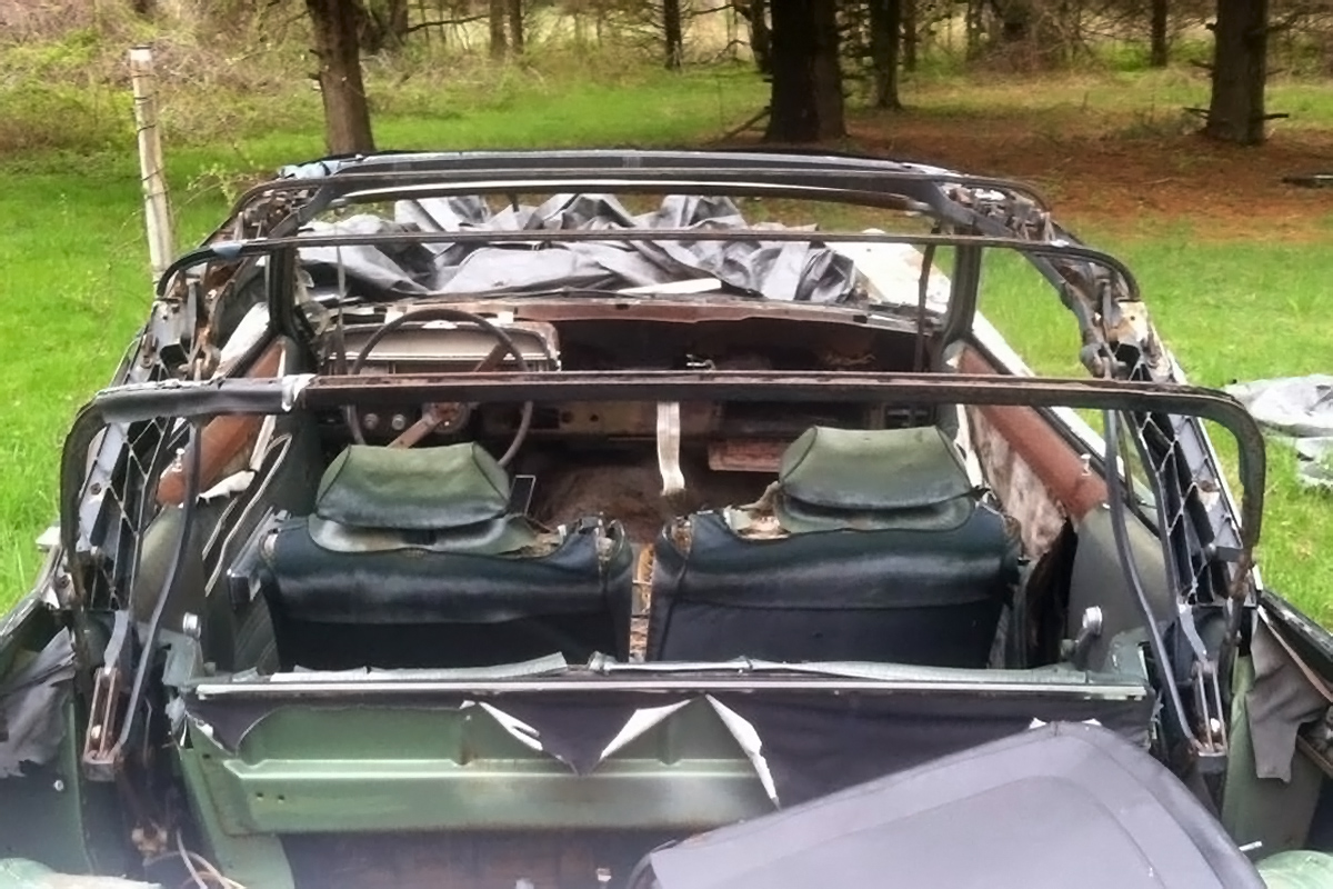 Field Find: 1971 Ford Torino GT Convertible