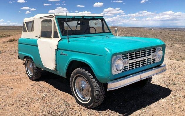 Old Dodge Trucks >> Rare U13 Roadster: 1966 Ford Bronco Survivor