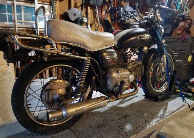 Italian Harley: 1967 Harley-Davidson SS 250 Sprint