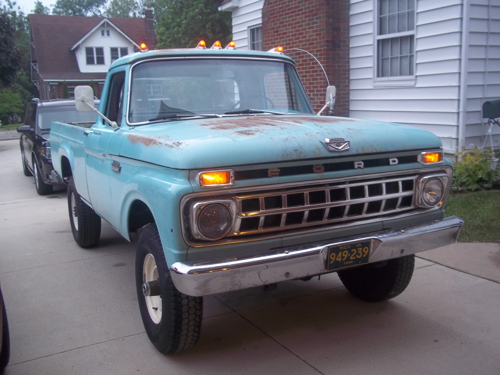Rare With 4wd 1961 Ford F250 4x4 F 250 Truck For Sale I